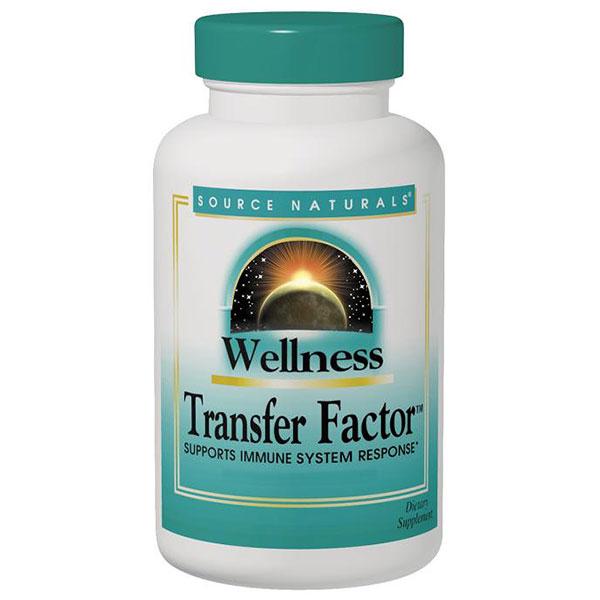 Wellness Transfer Factor 125 mg, 30 Vegantein Capsules, Source Naturals