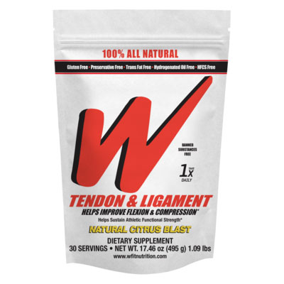 Wfit Nutrition Tendon & Ligament Powder - Citrus, 1 lb, Weider