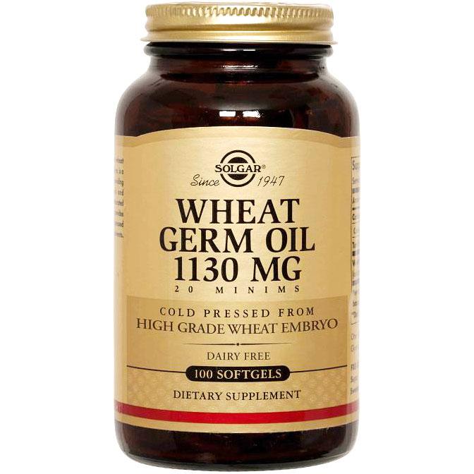 Wheat Germ Oil, 100 Softgels, Solgar
