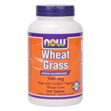 Wheat Grass 500mg, Organic Wheat Grass 500 Tabs, NOW Foods
