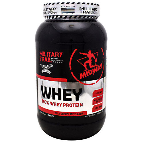 Whey Protein, Milk Chocolate Flavor, 30 Servings, Midway Labs