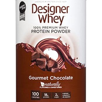100% Premium Whey Protein Powder, Gourmet Chocolate, 4 lb, Designer Whey