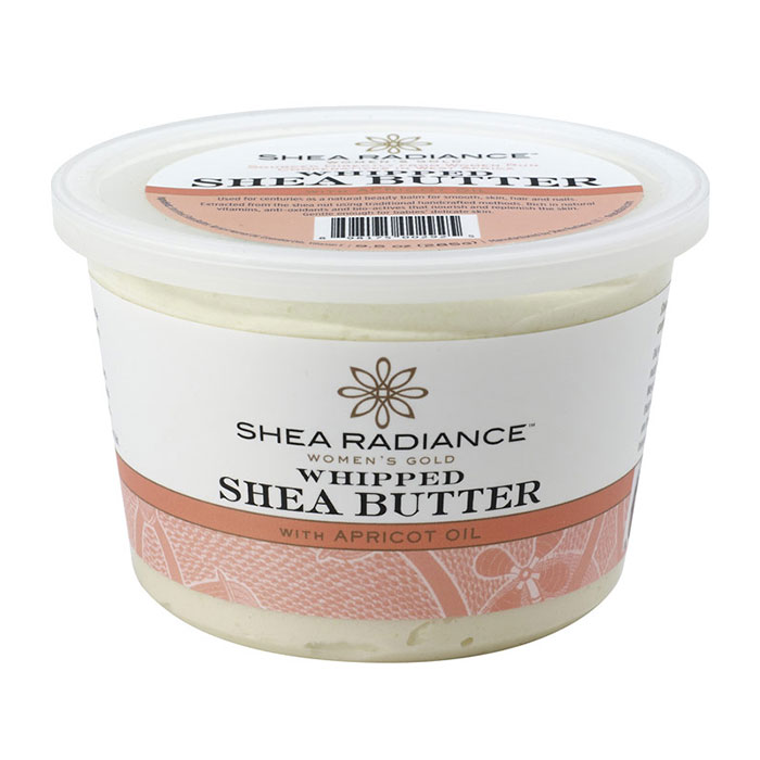 Whipped Shea Butter with Apricot Oil, 5 oz, Shea Radiance