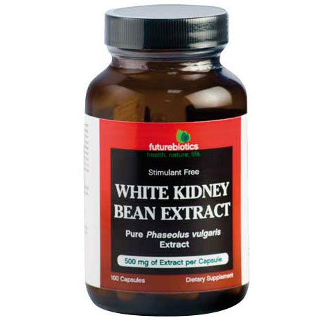 White Kidney Bean Extract, Large Size, 200 Capsules, FutureBiotics
