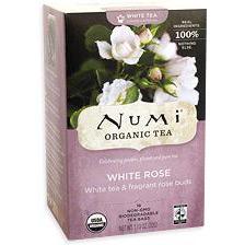 White Rose White Tea, 16 Tea Bags, Numi Tea