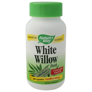 White Willow Bark 400mg 100 caps from Natures Way