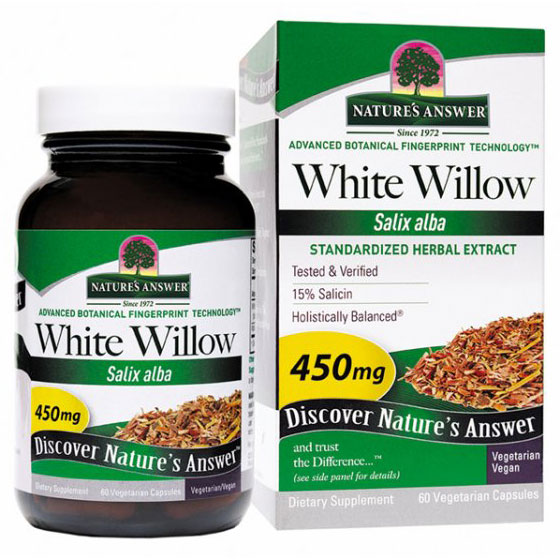 White Willow Bark Extract Standardized