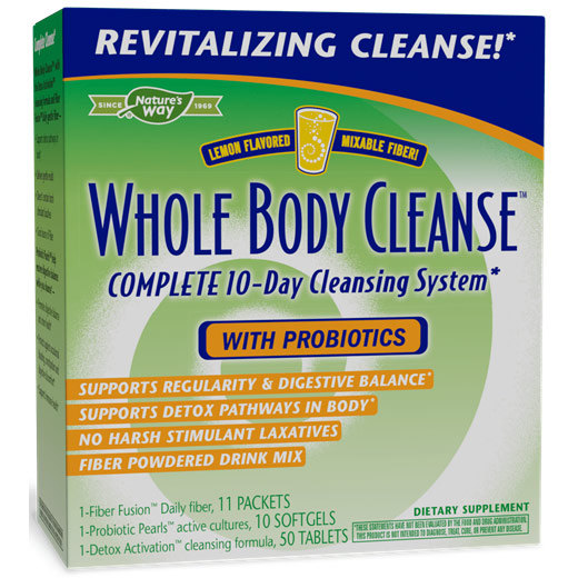 Whole Body Cleanse, Complete 10-Day Cleansing System, 1 Kit, Enzymatic Therapy