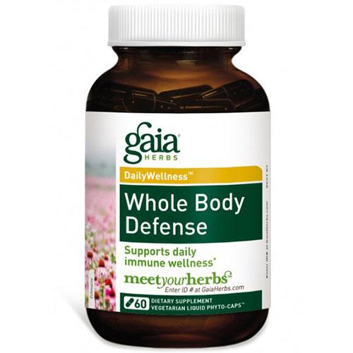 Whole Body Defense, 60 Liquid Phyto-Caps, Gaia Herbs
