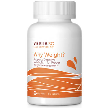 SO Self Optimize Why Weight, Weight Management, 60 Tablets, Veria