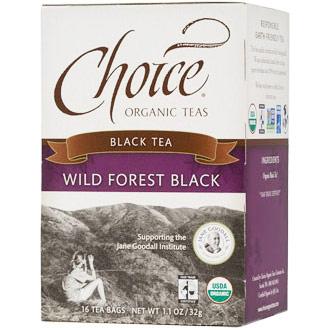 Wild Forest Black Tea, 16 Tea Bags, Choice Organic Teas