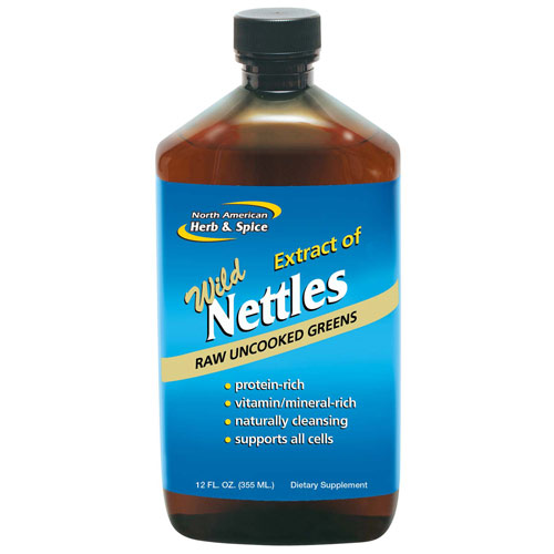 Wild Nettles Juice; 12 oz; North American Herb & Spice