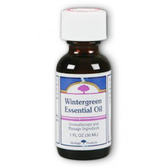 Wintergreen Essential Oil, 1 oz, Heritage Products