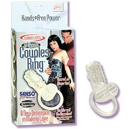 Wireless 2-Speed Couples Ring, California Exotic Novelties