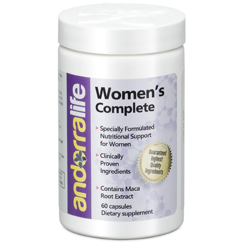 Womens Complete, Nutritional Support for Women, 60 Capsules, Andorra Life