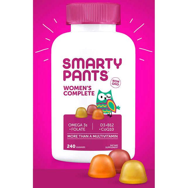 Womens Complete Multivitamin, 240 Gummies, SmartyPants Vitamins