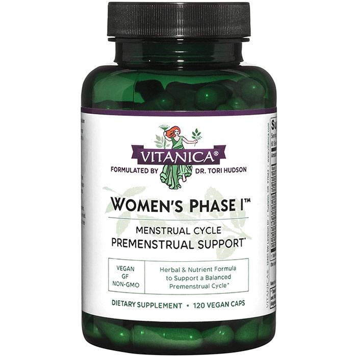 Womens Phase I, Value Size, 120 Vegetarian Capsules, Vitanica