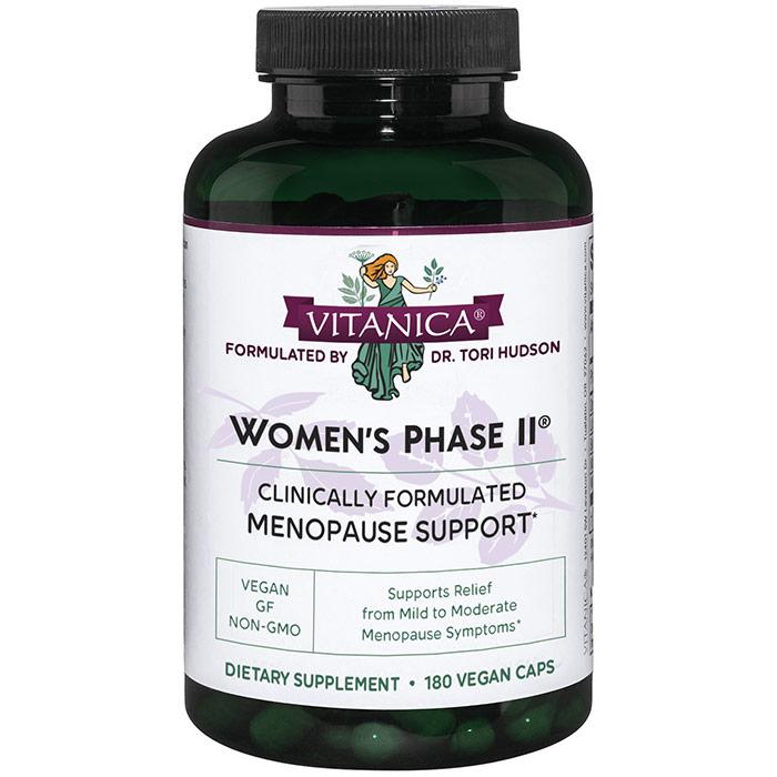 Womens Phase II, Value Size, 180 Vegetarian Capsules, Vitanica
