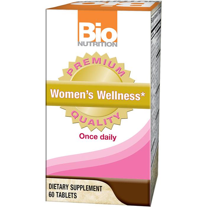 Womens Wellness, 60 Tablets, Bio Nutrition Inc.