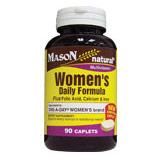Womens Daily Formula, 90 Caplets, Mason Natural