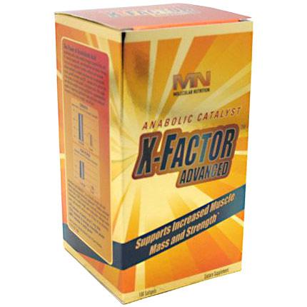 X-Factor Advanced, Muscle Mass & Strength, 100 Softgels, Molecular Nutrition