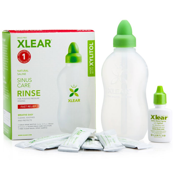 Xlear Sinus Care Rinse with Xylitol and Saline Solution, 1 Kit (Xclear)