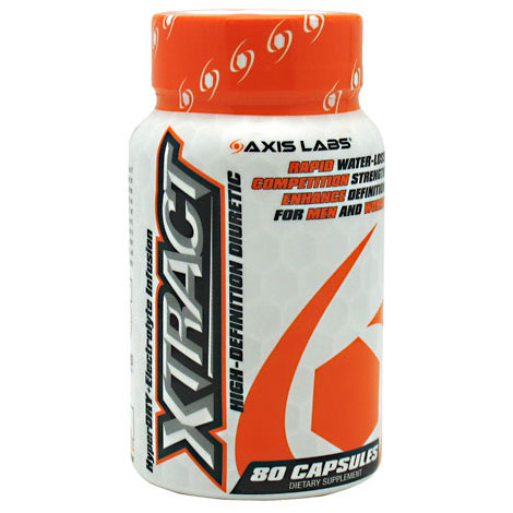 Xtract High-Definition Diuretic, 80 Capsules, Axis Labs
