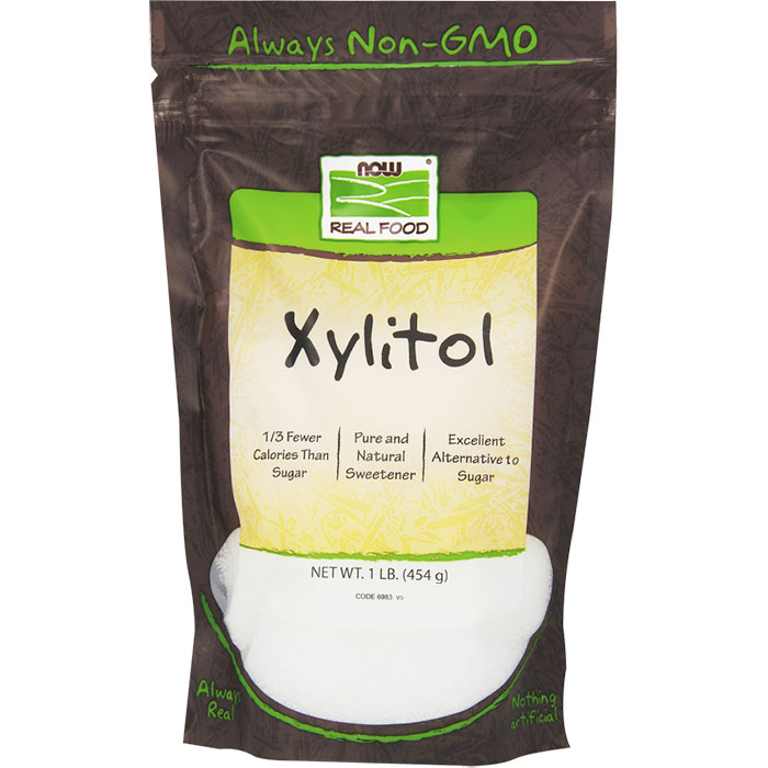Xylitol Powder 1 lb, NOW Foods