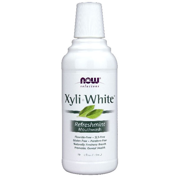 XyliWhite Mouthwash with Xylitol, 16 oz, NOW Foods - CLICK HERE TO LEARN MORE