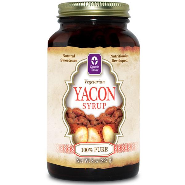 Yacon Syrup, 100% Pure, 8 oz, Genesis Today