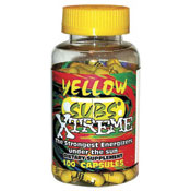 Yellow Subs Xtreme Ephedra Free Energy Pill 100 Caps from D&E