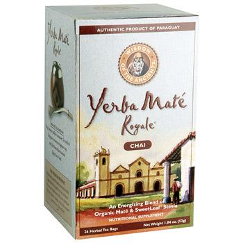 YerbaMate Royale Chai Tea (Yerba Mate Royale) 20 tea bags ...