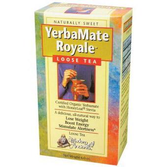 YerbaMate Royale Tea (Yerba Mate Royale) 6 oz bulk tea from Wisdom Natural Brands