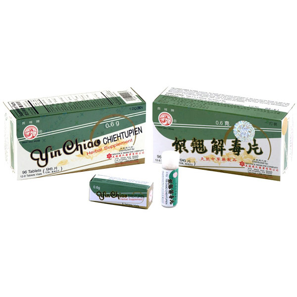 Yin Chiao Chieh Tu Pien, Herbal Supplement, 96 Tablets, Solstice