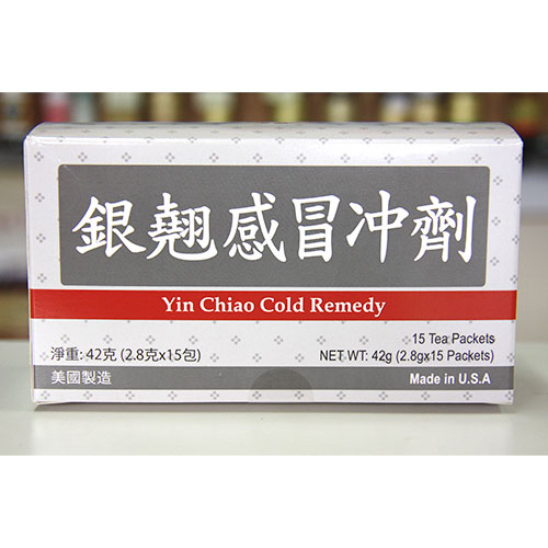 Yin Chiao Cold Remedy Herb Tea, 15 Tea Packets, Naturally TCM