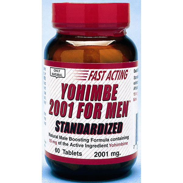 Yohimbe 2001 for Men, 60 Tablets, Only Natural Inc.