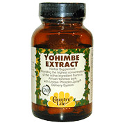 Yohimbe Extract w/Phospho-Zyme 60 Vegicaps, Country Life