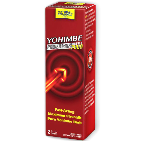 Yohimbe Power Max 2000 Liquid, 2 oz, Natural Balance