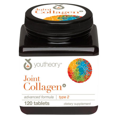 Youtheory Joint Collagen Type 2 Advanced Formula, 120 Tablets, Nutrawise Corporation