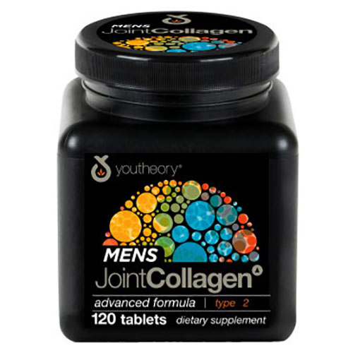 Youtheory Mens Joint Collagen Advanced Formula, 120 Tablets, Nutrawise Corporation