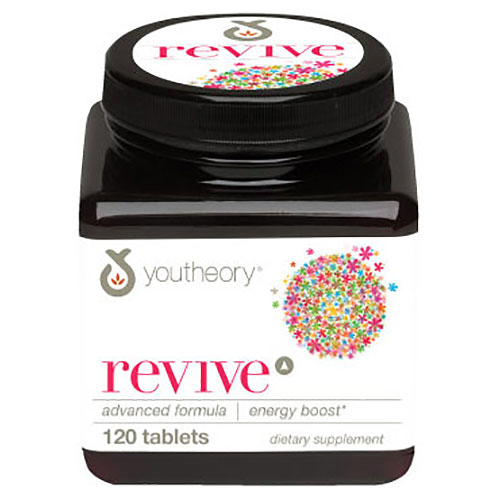 Youtheory Revive Advanced Formula, Energy Boost, 120 Tablets, Nutrawise Corporation
