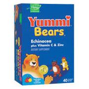 Yummi Bears Echinacea plus Vitamin C and Zinc 40 bears from Hero Nutritionals