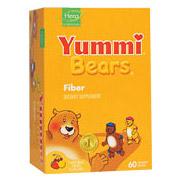 Yummi Bears Fiber Supplement 60 bears from Hero Nutritionals