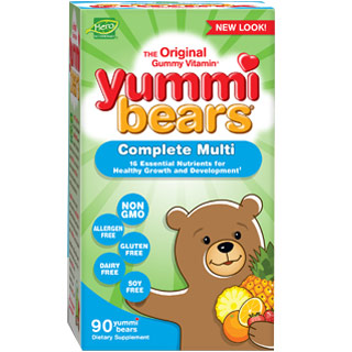 Yummi Bears Complete Multi-Vitamin, 90 Gummy Bears, Hero Nutritionals