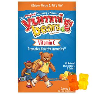 Yummi Bears Vitamin C for Children, 132 Bears, Hero Nutritionals