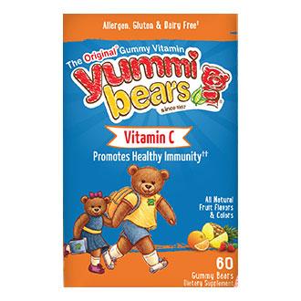 Yummi Bears Vitamin C 60 bears from Hero Nutritionals
