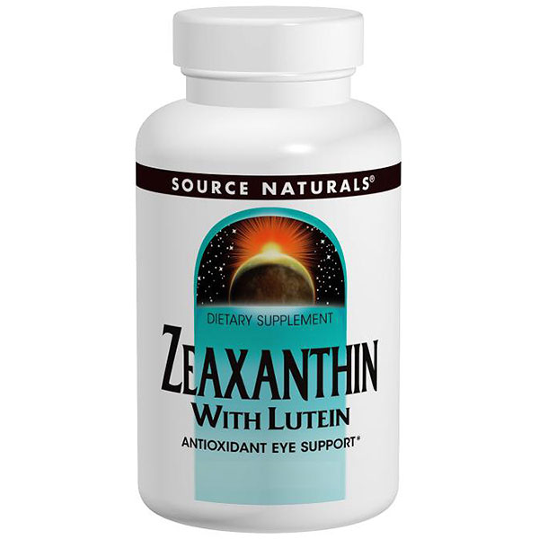 Zeaxanthin with Lutein 10mg 60 caps from Source Naturals