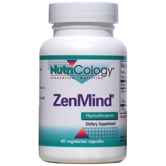 ZenMind (Zen Mind), Value Size, 120 Vegetarian Capsules, NutriCology