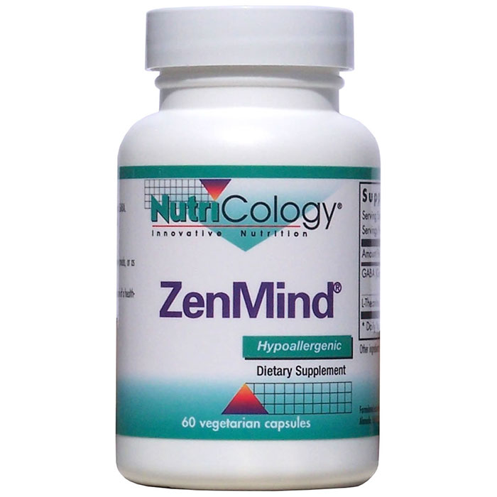 ZenMind GABA & L-Theanine 60 caps from NutriCology