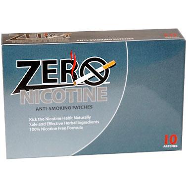 Zero Nicotine - Stop Smoking Patch